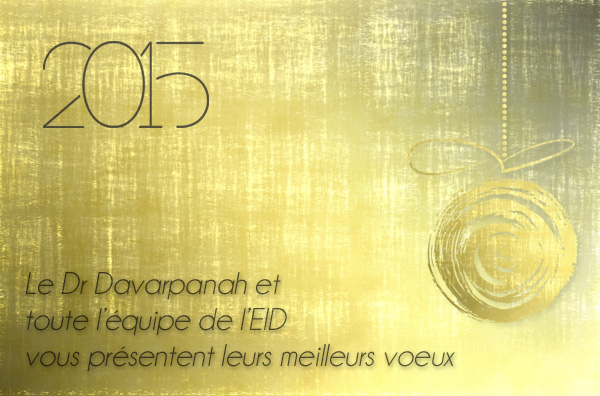 voeux 2015 équipe dentaire EID